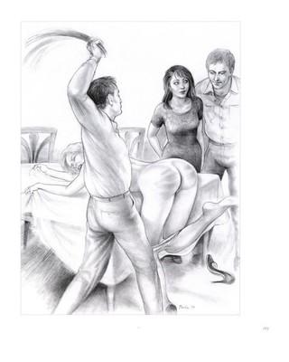 Рисунки женщин порка